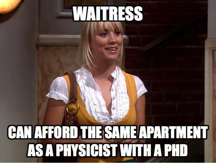 Waitress Physicist