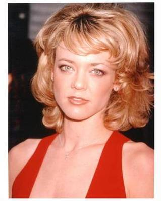 Lisa Robin Kelly with youth and make-up