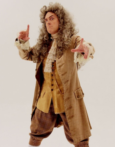 Weird Al as Newton