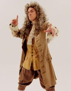 Weird Al as Newton