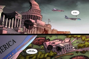 Washington DC is attacked by futuristic weaponry.