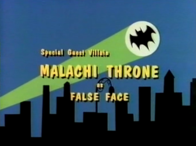 Batman 66 s01e18 guest villain end title card
